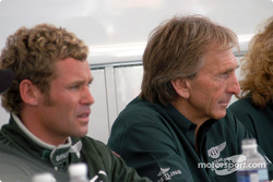Tom Kristensen and Derek Bell