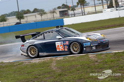 #43 Orbit Racing Porsche 911 GT3 RS: Leo Hindery, Peter Baron, Marc Lieb