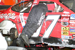 Kurt Busch after the race
