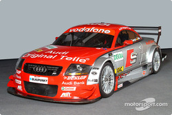 The Abt-Audi TT-R of the S line Audi Junior Team