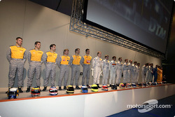 DTM 2003 presentation, Europa-Park Rust, Germany