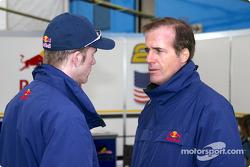 Scott Speed and Danny Sullivan