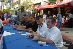 Autograph session with Trans-Am drivers
