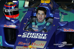 Sauber Petronas sign Neel Jani as test driver: seat fitting for Neel Jani