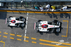 Jacques Villeneuve and Jenson Button