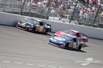 Jerry Nadeau, Jeremy Mayfield and Michael Waltrip
