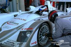 Jan Magnussen in the Audi R8 of the team Audi Sport Japan Team Goh