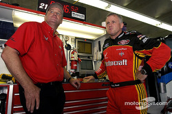 Ricky Rudd and crew chief Pat Tryson