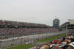 Pace laps from stand H