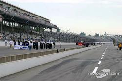 Pre-race activity