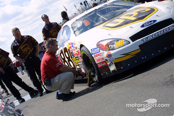 Inspection for Robert Yates Racing
