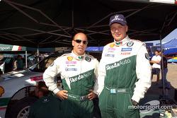 Didier Auriol and Toni Gardemeister