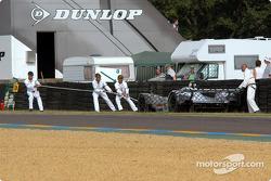 #16 Racing for Holland Dome S101 Judd: Felipe Ortiz, Beppe Gabbiani, Tristan Gommendy