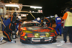 Pitstop for #68 Scorp Motorsport Chrysler Viper GTSR: Luis Marques, René Metge, Christian Lavieille