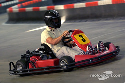 Karting at the Schumacher family track in Kerpen: Michael Schumacher