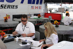 Trans-Am series hospitality area