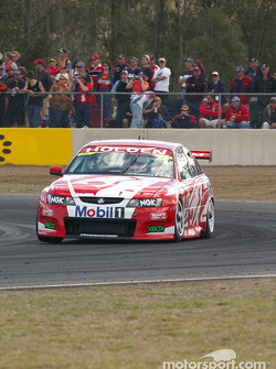 Skaife goes about stretching his lead to 1.seconds over Ambrose