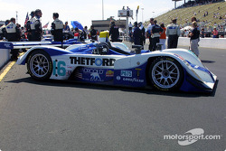 Starting grid: #16 Dyson Racing Team Lola EX257/AER MG