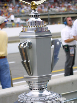 The Brickyard 400 trophy