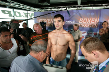 DTM vs boxing event: Markus Beyer