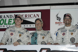 GTS 2nd Place Winners-Gunnar Jeanette;Paul Newman;Kyle Petty