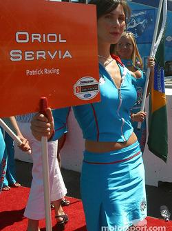 Oriol's grid girl