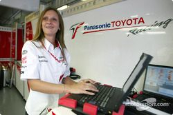 Toyota electronics engineer Gill Hall