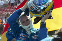 Nick Heidfeld on starting grid