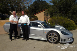 An announcement was made that the ACEMCO Motorsports team in the American Le Mans Series will move up to the GTS class in 2004 and will campaign a Saleen S7R: team owner Jeff Giangrande and Steve Saleen, President and Founder of Saleen