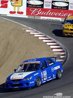 Speed Touring Car winner Jeff Altenburg leads Bill Auberlen