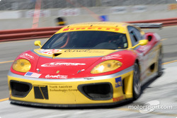 #29 JMB Racing USA/Team Ferrari Ferrari 360 Modena comes in for its pit stop