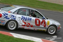 #04 Istook/Aines Motorsport Group Audi S4: Don Istook, Paul Zube