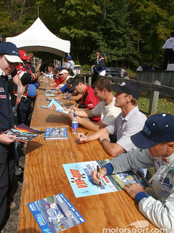 Drivers autograph session