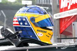Duncan Dayton's helmet