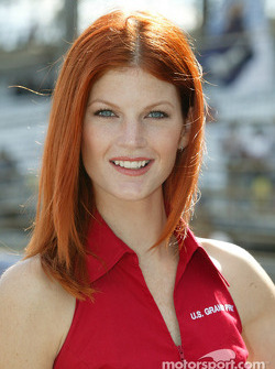 A lovely United States GP hostess