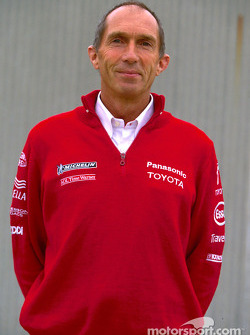 Toyota photo shoot: Race Engineer Humphrey Corbett