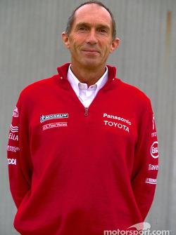 Toyota photo shoot: Race Engineer Humphrey Corbett