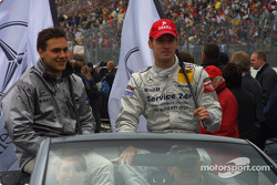 Drivers presentation: Gary Paffett and Stefan Mücke