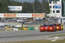 #80 Prodrive Ferrari 550 Maranello: David Brabham, Jan Magnussen, Anthony Davidson