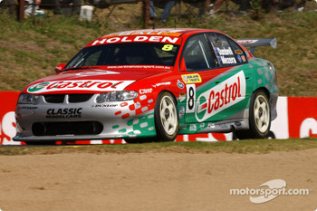 Tomas Mezera grabbed a drive with the Castrol Perkins Team