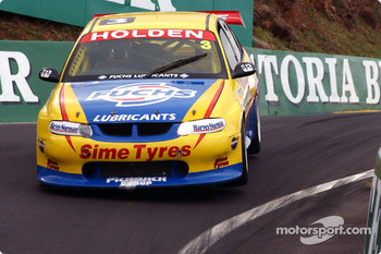Cameron McConville in the Lansvale Racing Commodore