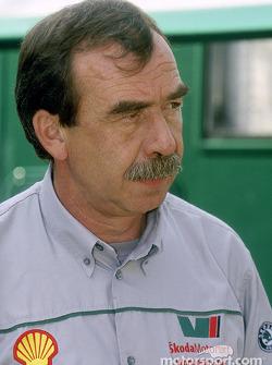 Skoda team manager Pavel Janeb