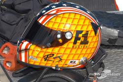 RJ Valentine's helmet