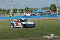 #39 Stevenson Motorsports / Auto Assets Porsche GT3 RS: Chip Vance, John Stevenson off the track