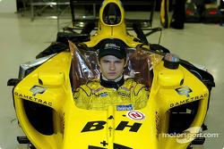 Jaroslav Janis has a seat fitting in the Jordan EJ13