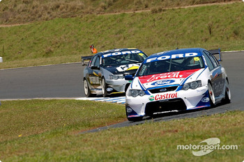 Team mates Glenn Seton and Craig Lowndes looking for a good finish to the season