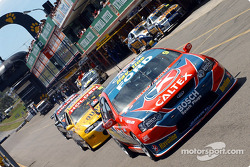 Russell Ingall and co return to the pits