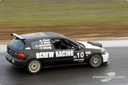 #10 Rcrew Racing: Jim Shen, Andrie Hartanto, Dan Phan, Telly Chang