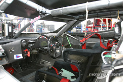 #58 Brumos Racing Porsche Fabcar cockpit