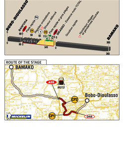Stage 12: 2004-01-13, Bobo-Dioulasso to Bamako
